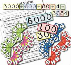 free printable place value game learning expanded form kids activities