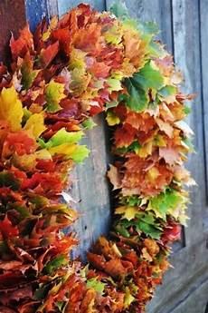 Basteln Mit Herbstblättern - basteln mit bl 228 ttern 60 ideen f 252 r mehr freude im herbst