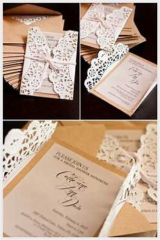 diy wedding invitations sles lace doily diy wedding invitations casamento wedding