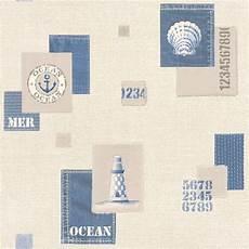 Rasch Bathroom Wallpaper by Rasch Aqua Nautical Bathroom Wallpaper 853209 Blue