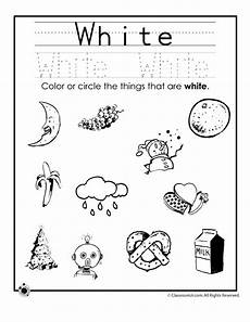 color white worksheet woo jr activities