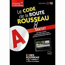 Code Rousseau De La Route B 2018 Edition 2018 Broch 233