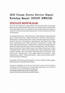 free download parts manuals 2004 nissan xterra engine control 2010 nissan xterra service repair workshop manual instant download by hsgefbhsne issuu