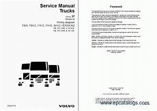 volvo fm7 9 10 12 fh12 16 nh12 wiring diagrams repair manual trucks buses repair
