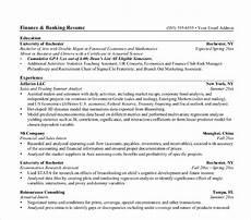 banking resume templates pdf doc free premium templates