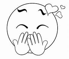 Emoji Malvorlagen Gratis Emojis Zum Ausdrucken Und Ausmalen