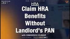 hra house rent allowances you can claim hra benefits