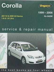 vehicle repair manual 2010 toyota corolla free book repair manuals toyota corolla 1999 2006 gregorys service repair manual sagin workshop car manuals repair