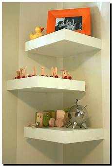 optimale raumnutzung durch eckregal diy corner shelf