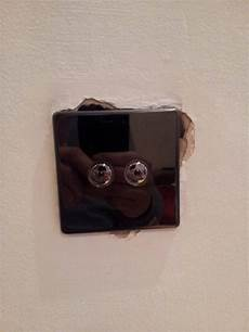 repair how do i fill holes around a light switch home improvement stack exchange