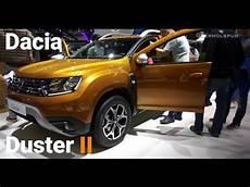 dacia duster ii 2018 dacia duster ii exterior interior walkaround
