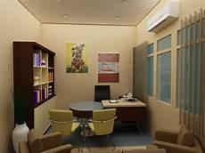Render Studio Interior Ruang Direktur
