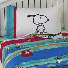 peanuts by schulz boy s twin sheet set charlie brown snoopy