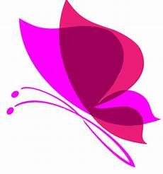Pink Butterfly Transparent Background Png Mart