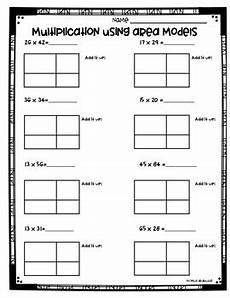multiplication worksheets area model 4309 area model multiplication worksheets 3 nbt 2 and 4 nbt 5 by abarca