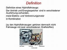 Hybridantrieb Vor Und Nachteile - hybridmotor ppt herunterladen