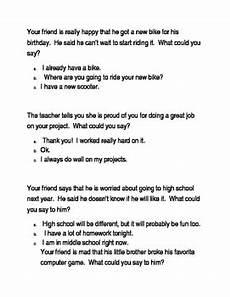 social skills perspective taking worksheet tpt