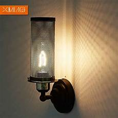vintage wall l retro rustic wall sconces black l shade iron material the best light for