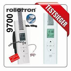 rolladenmotor test testsieger rollotron 9700 pro