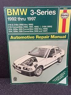 free auto repair manuals 1993 bmw 3 series instrument cluster bmw 3 series repair manual haynes 18021 1992 1997 bmw 318i ships free haynespublications diy