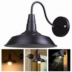 yescom retro vintage industrial barn style light wall sconce wall mounted metal lshade