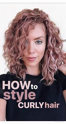 Ways To Style Medium Length Curly Hair how to style naturally curly hair kier couture