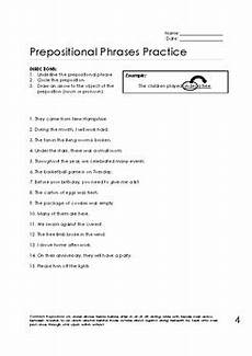 prepositional phrase worksheets bundle by nicholson tpt