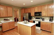 green paint with oak cabinets kitchen pinterest oak cabinets paint and green