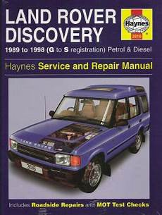 automotive service manuals 2000 land rover discovery head up display 1989 1998 land rover discovery gas diesel haynes repair manual