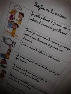 Routines Tableau De Comportement Planning Enfant Et