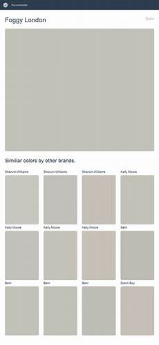 foggy london paint color foggy london behr click the image to see similiar colors by other brands 2017 behr paint