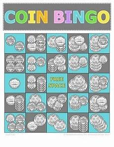 money bingo worksheets 2076 money math adding coins bingo cards 30 unique cards tpt