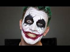 maquillage homme joker joker makeup tutorial bosslady shruti