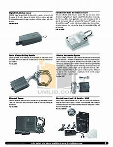 Pdf Manual For Dei Other Viper 5000 Car Alarms