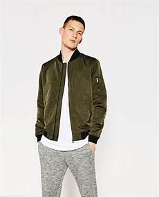 Zara Homme Blouson Bomber Bomber Jacket Jackets