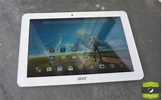 test acer iconia tab 10 notre avis complet tablettes