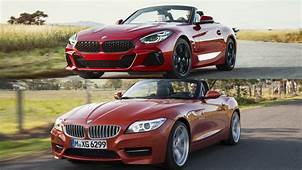 2020 BMW Z4 Vs 2017 Pictures Photos Wallpapers