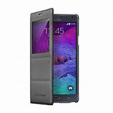 samsung s view flip cover for samsung galaxy note 4 ebay