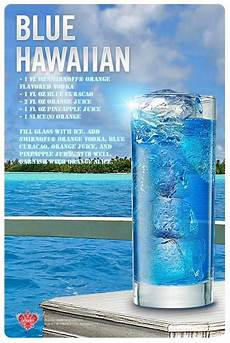 blue hawaiian drink recipe of the day get your drink on
