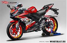 Striping R Modif by Modifikasi Striping All New Yamaha R15 Livery Ferrary