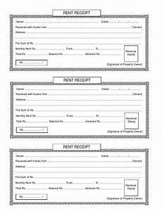 rent receipt renting receipt