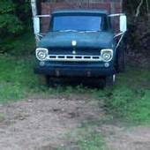 1957 Ford F600 Dump Truck Restoration Project For Sale