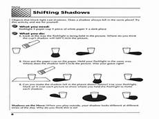 science worksheets light and shadows 12279 shifting shadows 3rd 4th grade worksheet lesson planet