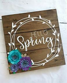 hello home decor hello wood sign home decor flowers by