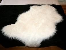 peau de mouton white synthetic sheep skin peaudevache