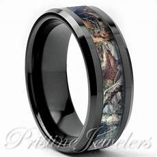 tungsten real oak forest camo ring brown mossy tree