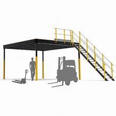 mezzanine industrielle en kit kit txl 32 mezzanine industrielle tecrostar