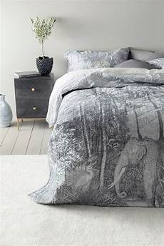 tagesdecke einzelbett jungle tagesdecke einzelbett 180x260 cm grau