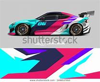 Find Car Wrap Decal Design Concept Abstract Stock Images