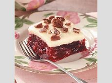 frosted cranberry squares image